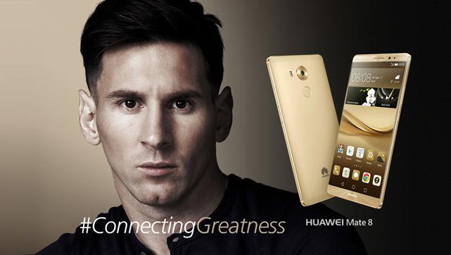 Lionel Messi se une a la familia Huawei de embajadores globales de marca