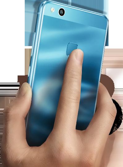 HUAWEI-P10 lite-finger