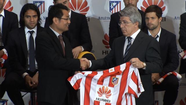 Football sponsorship celebrates Huawei's 10 years in Spain