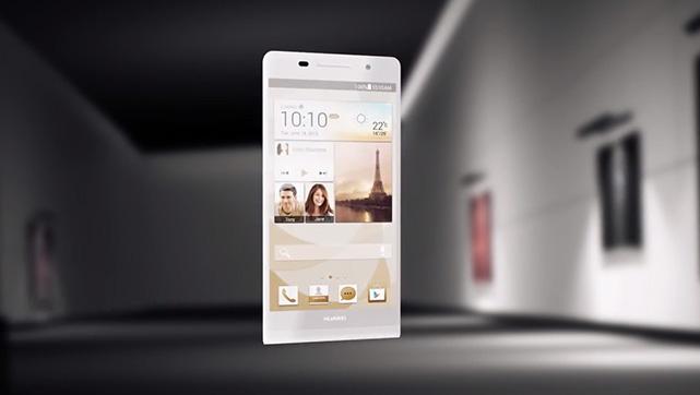 Huawei Ascend P6 : un smartphone haute couture