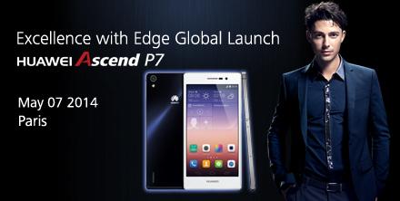 Lanzamiento Global del Huawei Ascend P7