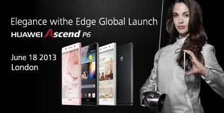 Lanzamiento Global del Huawei Ascend P6