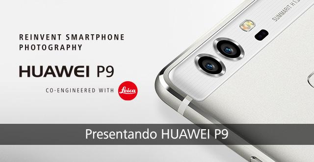 Descubre las principales características del teléfono celular HUAWEI P9.