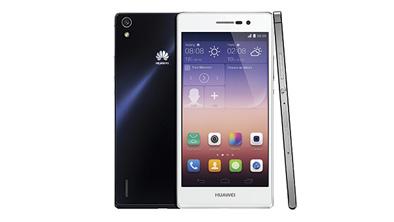 HUAWEI Ascend P7 寫下唯美新標準 6.5毫米纖薄機身LTE智能手機,重新定義手機工藝及功能
