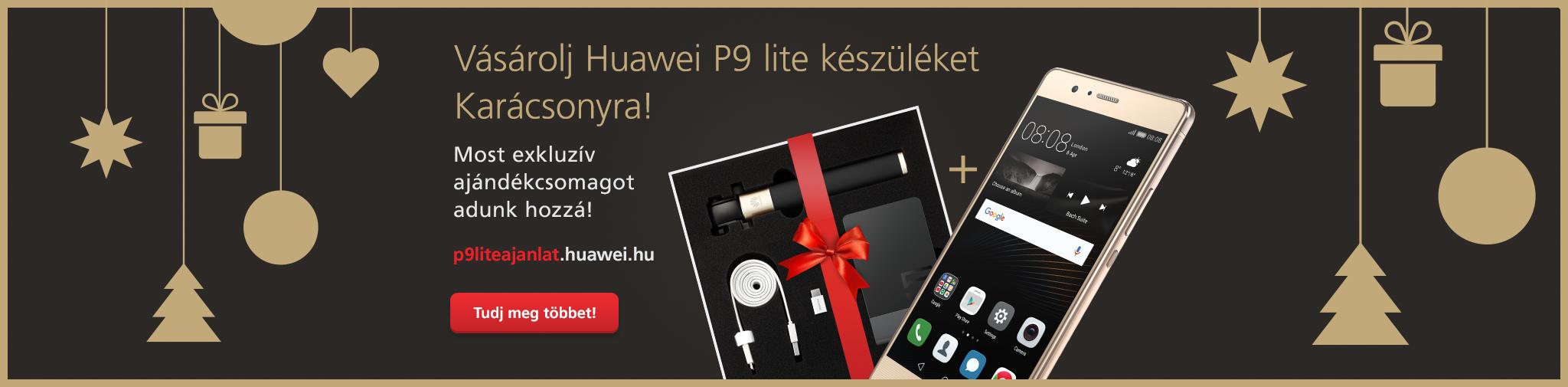 Huawei P9 Lite Christmas bundle promo