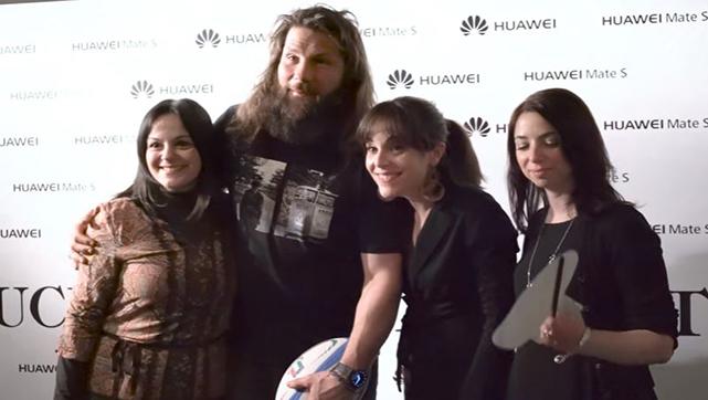 Huawei Mate S   Meet & Greet con Martin Castrogiovanni