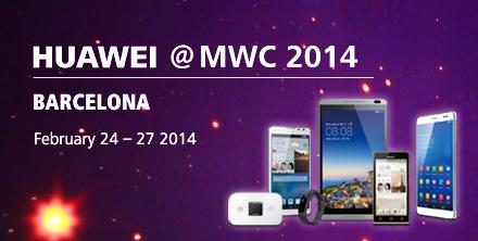 Huawei@MWC 2014