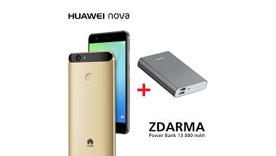 K Huawei P9 a Huawei Nova zákazníci teraz dostanú powerbanky zdarma