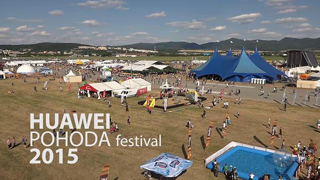 Huawei - Pohoda festival 2015